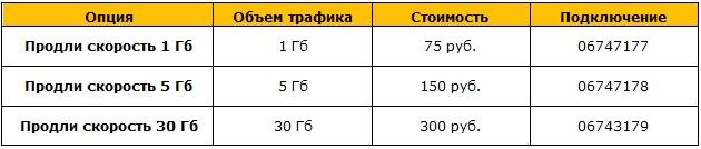 Услуга Продли скорость 5 Мб - Мобильный Билайн