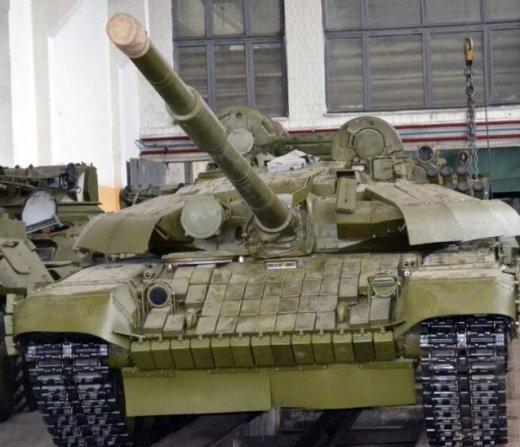 Украинский Т-72УА1 для Эфиопии