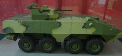 Сборная модель Zvezda Американская самоходная гаубица М-109 А2 7422