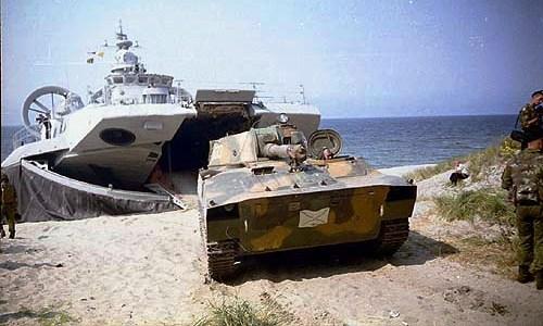 Десантные корабли типа зубр