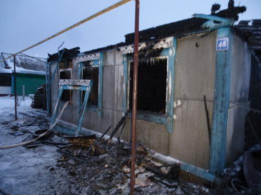 ВМордовии 2 человека погибли впожаре жилого дома