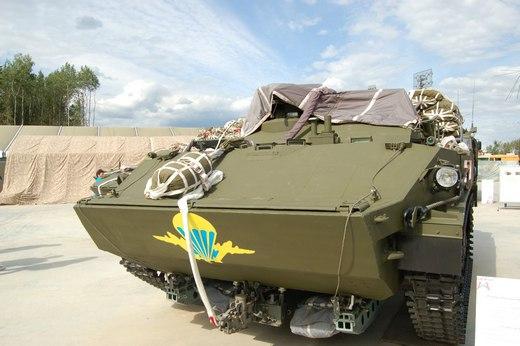 РХМ-5М: уникальная разведывательная машина для ВДВ набазе шасси «Ракушка»