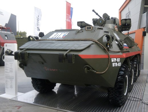 "БТР-87 и ""Тайфун-ВДВ"" на форуме ""Армия-2017"""