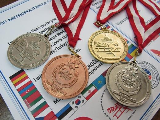 Представительница Мордовии стала десятитикратной чемпионкой мира попожарно-спасательному спорту