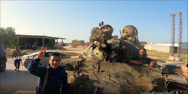 غنيمة طريفة للجيش الوطني الليبي Siriya
