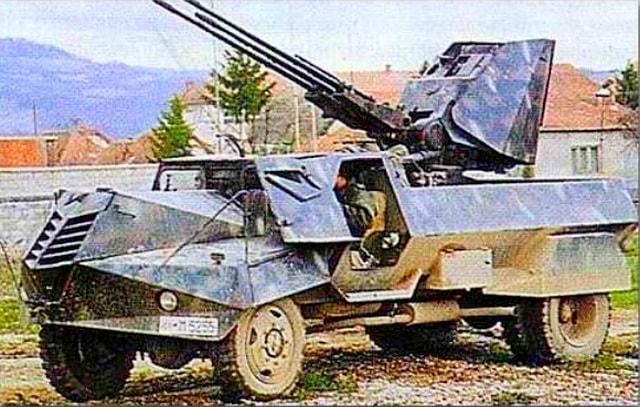 Vo Vremya Boev V Karabahe Zasvetilis Redkie Trehstvolnye Pushki M55