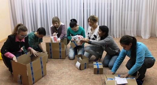 Более 60 казанских ребят получили подарки врамках акции «Помоги Деду Морозу»