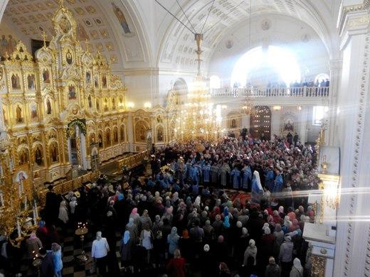 В2015 году  чудотворной иконе «Знамение» вКурске поклонились 180 тыс.  верующих