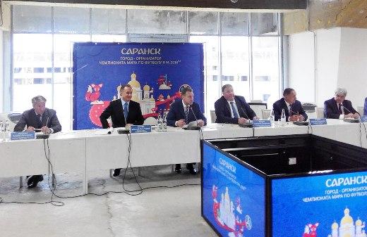 Игорь Шувалов: «Саранск производит впечатление благоустроенного европейского города»
