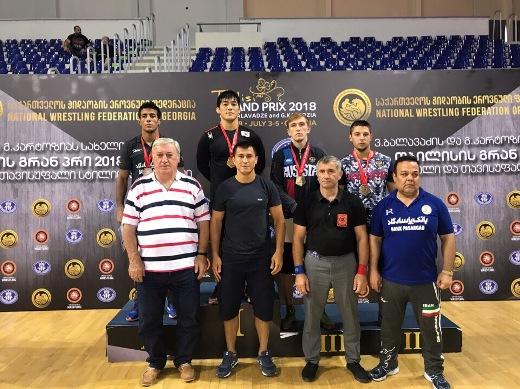 Олимпийский чемпион Рамонов вышел вфинал турнира повольной борьбе вТбилиси