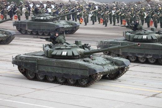 Танки Т-72Б3 впервые будут участвовать вПараде Победы