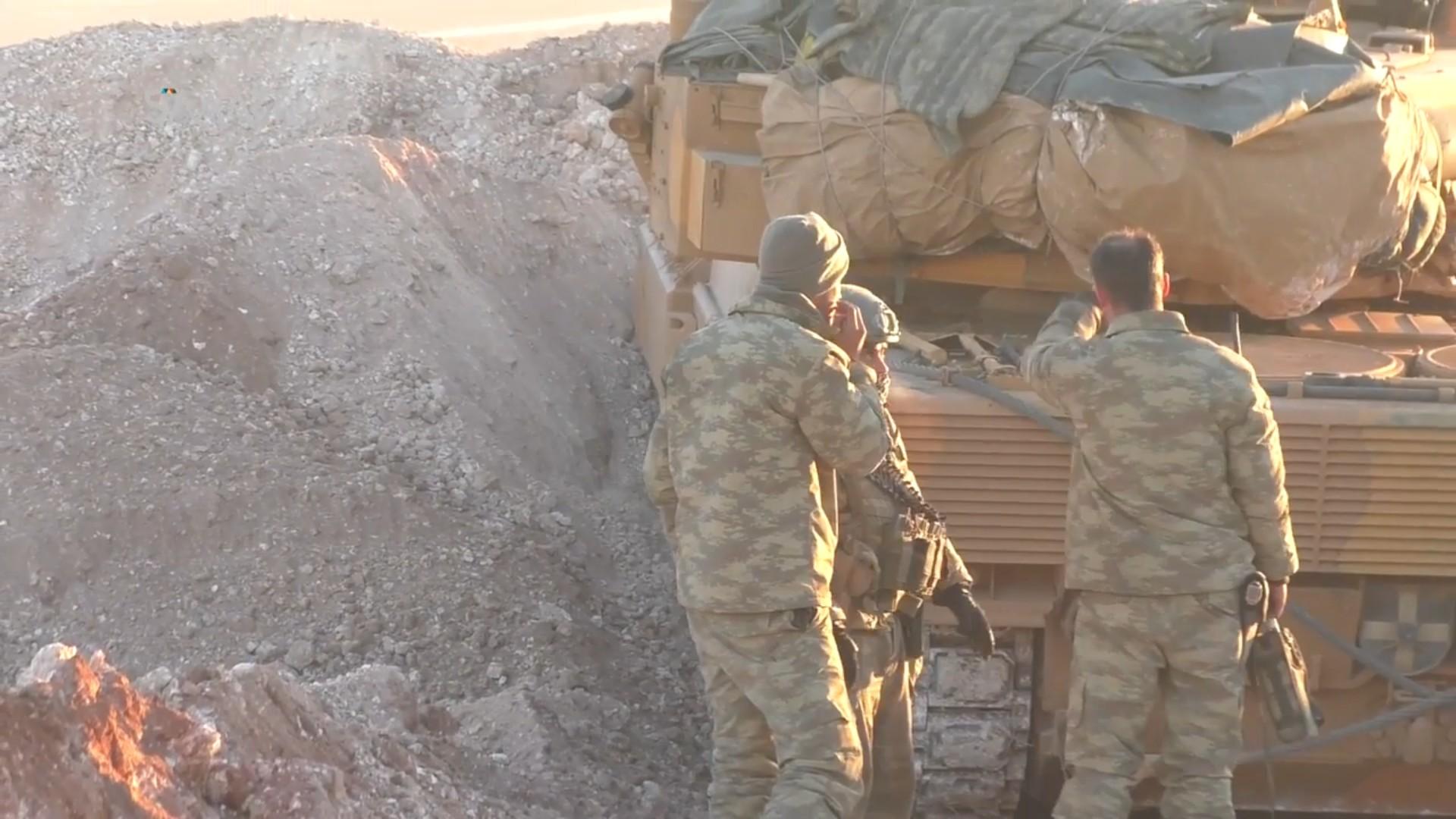 Боевики ИГИЛ подбили вСирии турецкий танк Leopard