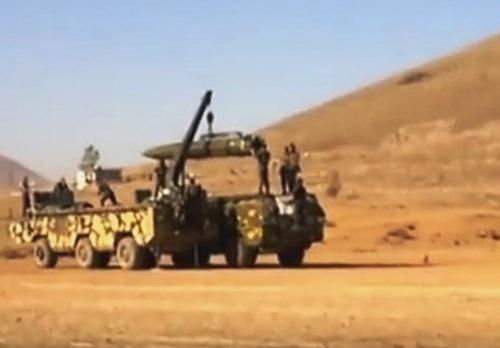 Минобороны опровергло сообщения оприменении вСирии ракет «Точка-У»