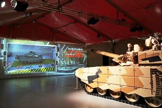 «Уралвагонзавод» демонстрирует навыставке вАзербайджане модернизированный танк Т-72