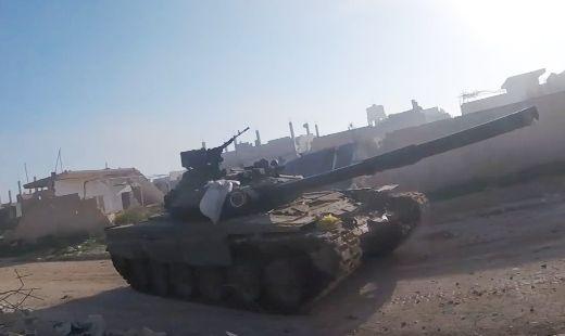 t_90a Т-90А в руках террористов ИГИЛ активно воюет на фронте