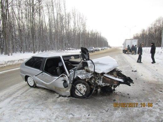 ВСаранске автоледи устроила тройное ДТП