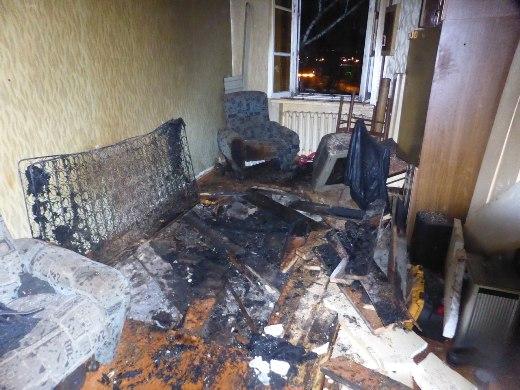 Гражданин Саранска умер вгорящей квартире