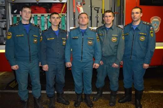 ВСаранске пожарные спасли изгорящей многоэтажки 30 человек