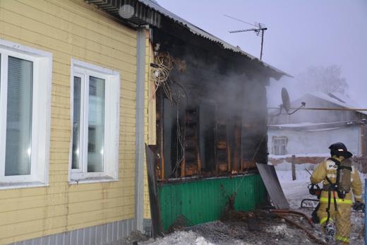 Детали  чудовищного  пожара вМордовии, где погибли две девушки