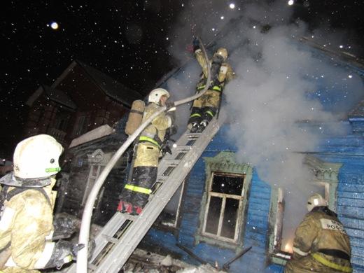 Смертоносный пожар вСаранске: погибший мужчина жил один