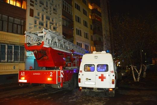 Гражданин Саранска задохнулся всобственной квартире вовремя пожара