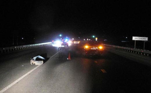 ВМордовии неизвестный шофёр переехал сбитого пешехода и исчез