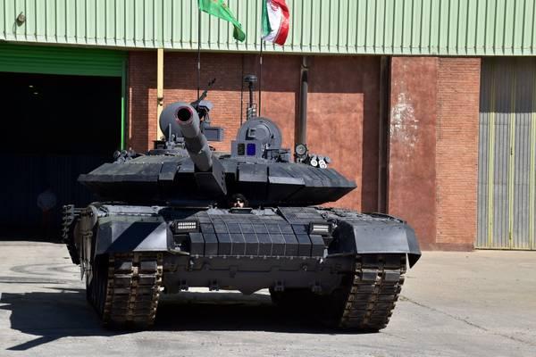 Военные Ирана презентовали новый танк «Каррар» собственной разработки