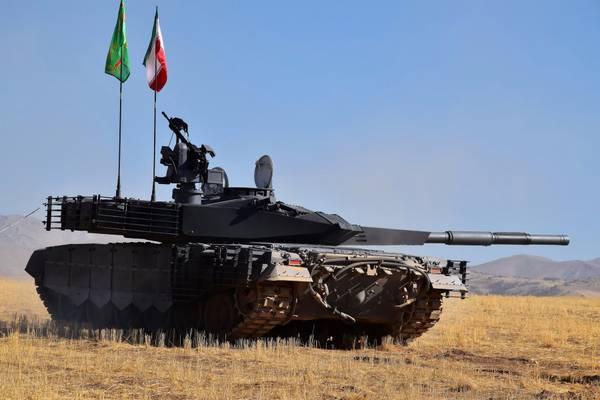 Иран продемонстрировал собственный танк изапустил его серийное производство