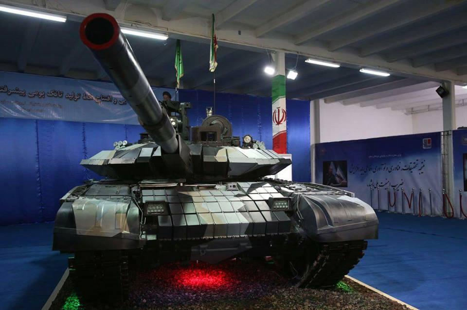 Иран показал собственный самый новый танк Karrar