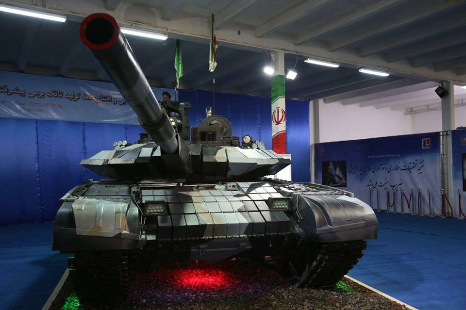 Иран начал серийное производство самого нового танка