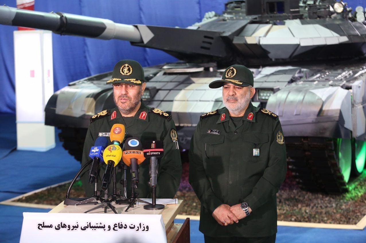 Иран показал собственный новый танк «Karrar», очень схожий на русский Т-90