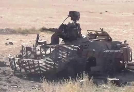 Боевики ИГИЛ вСирии захватили русский танк