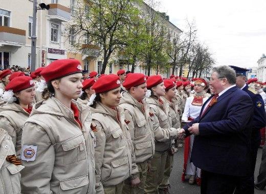 Неменее тысячи мордовских школьников вступи вряды «Юнармии»