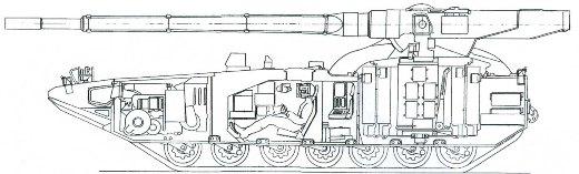 عودة التفوق الروسي البري من جديد , الحلم الروسي T-14 Obekt_299